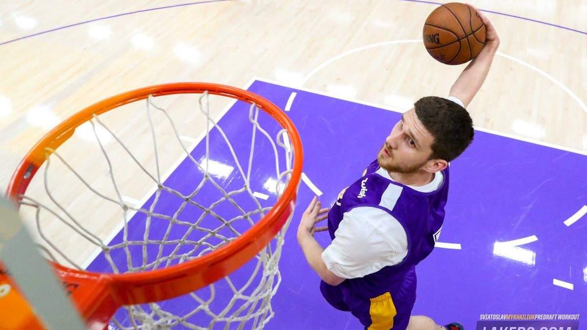 "Святослав Михайлюк в НБА виступатиме за ""Лос-Анджелес Лейкерс"""
