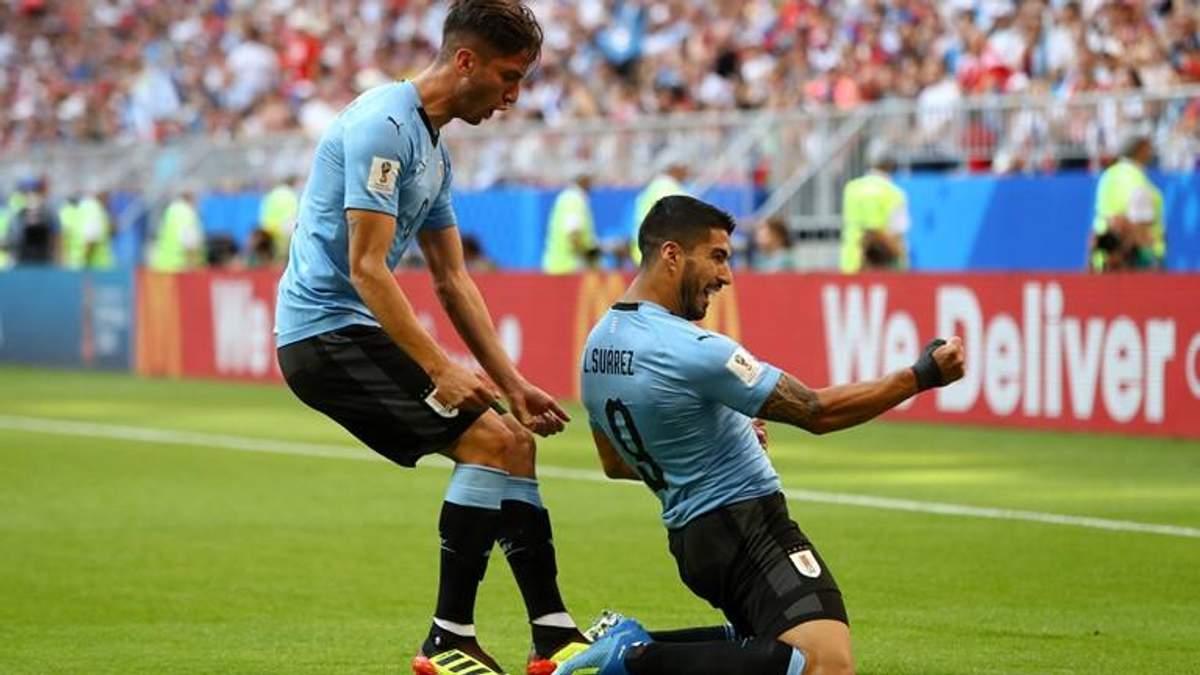 Уругвай – Росія відео голів матчу Чемпіонату світу 2018
