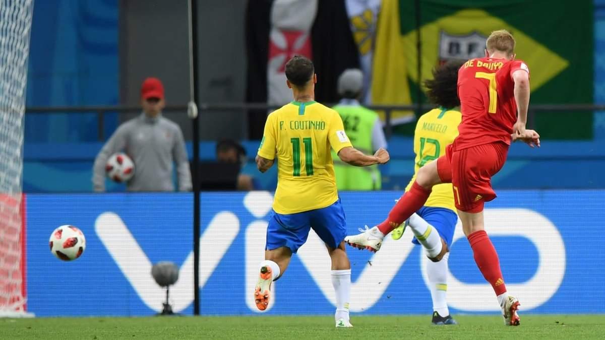 Бельгія перемогла Бразилію та вийшла у півфінал Чемпіонату світу