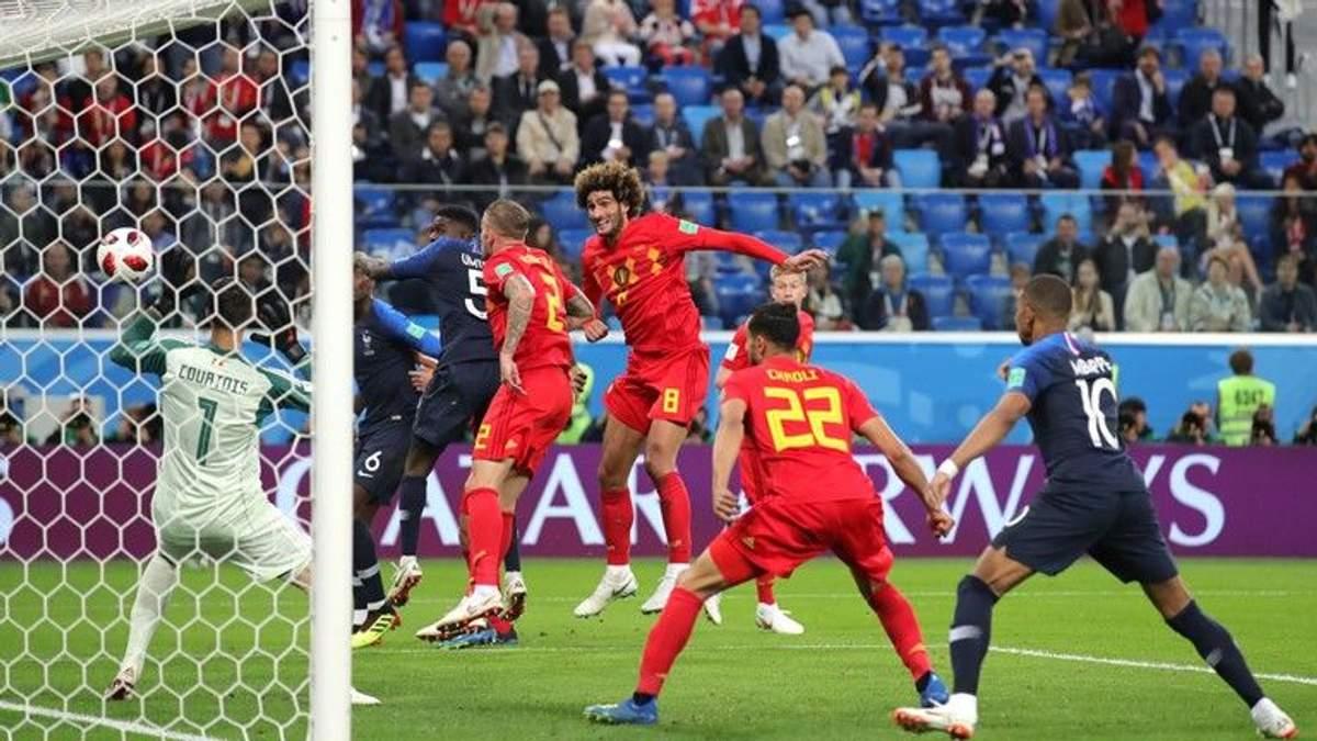 Франція – Бельгія відео голів матчі Чемпіонату світу 2018