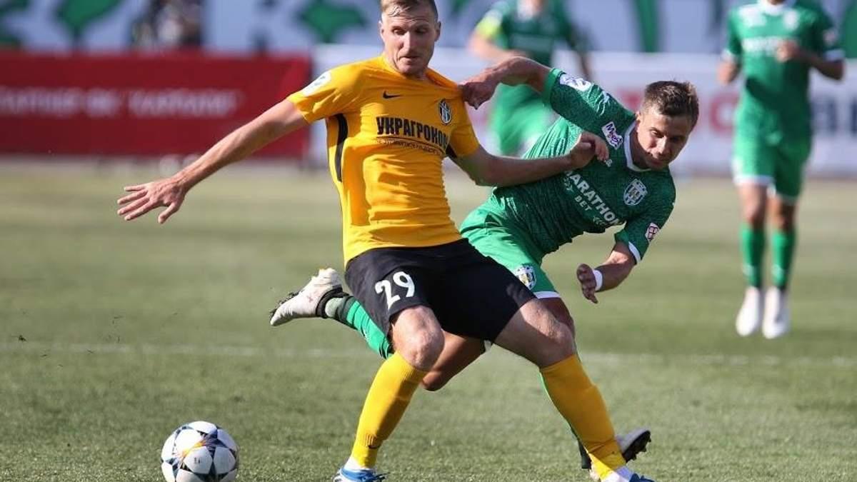 Украинский футболист перебрался в чемпионат Бельгии