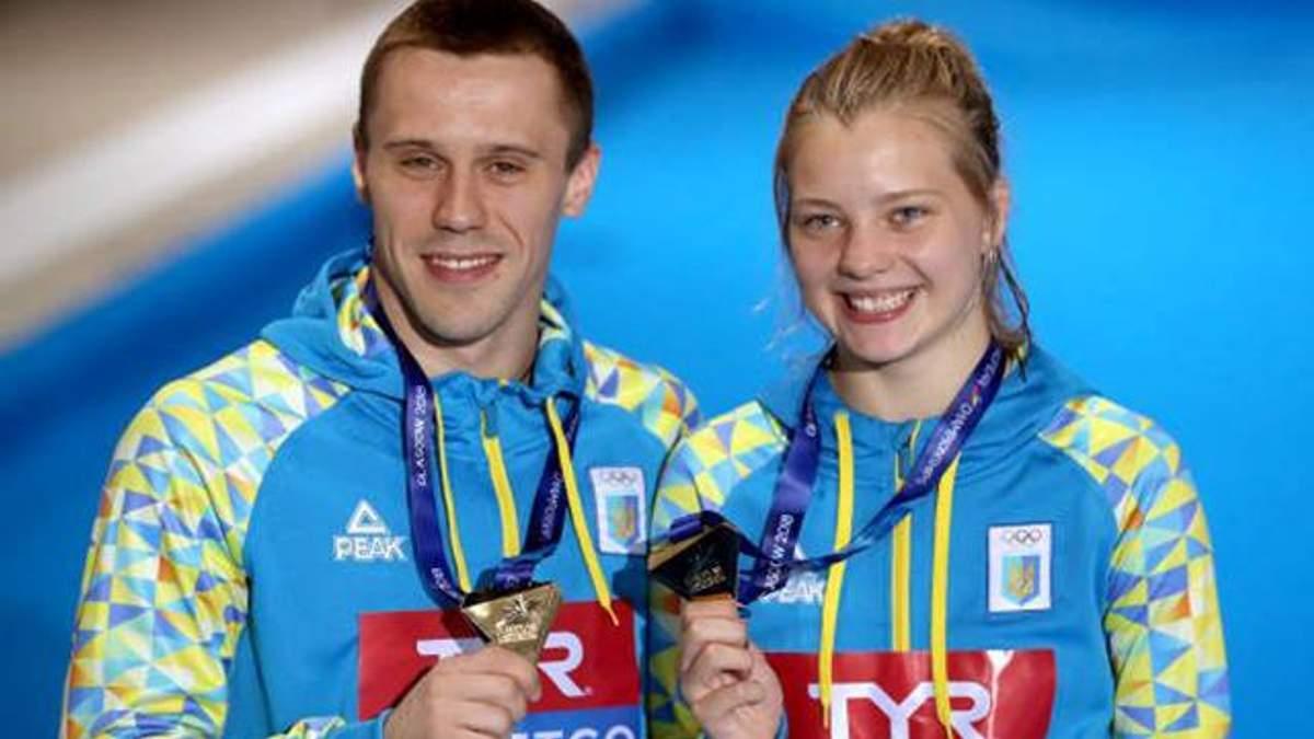Українці стали чемпіонами Європи зі стрибків у воду