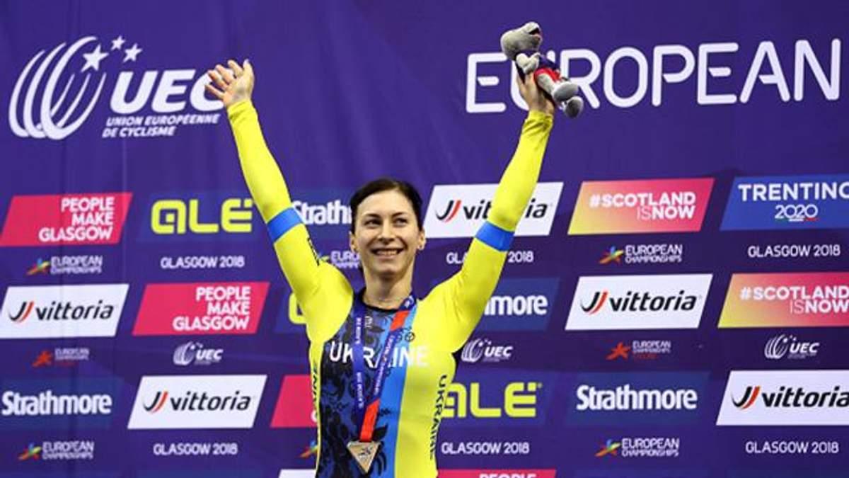 Українка Старікова виграла друге срібло на ЧЄ-2018 з велотреку