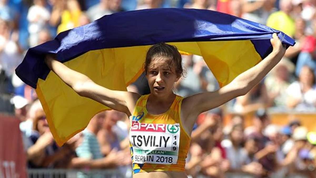Аліна Цвілій принесла Україні медаль на Чемпіонаті Європи з легкої атлетики та встановила рекорд