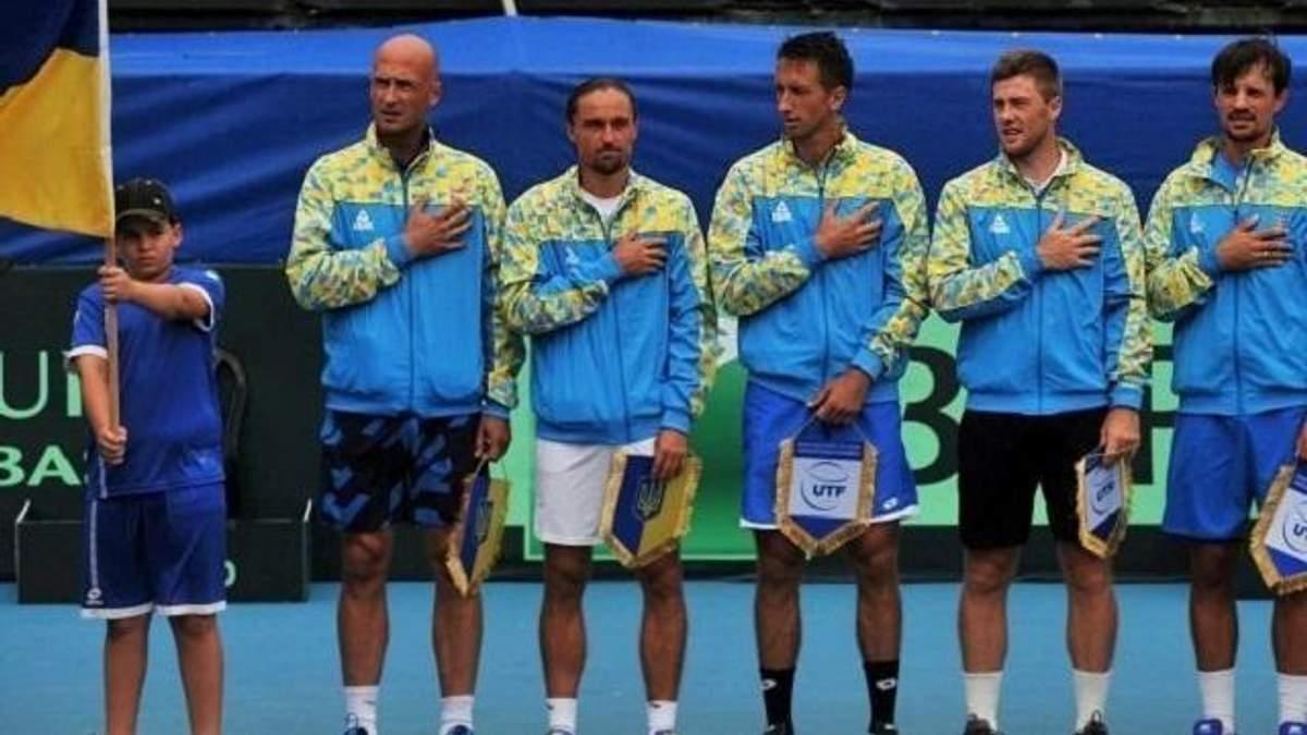 Сборная Украины по теннису объявила состав на матчи Кубка Дэвиса против Португалии