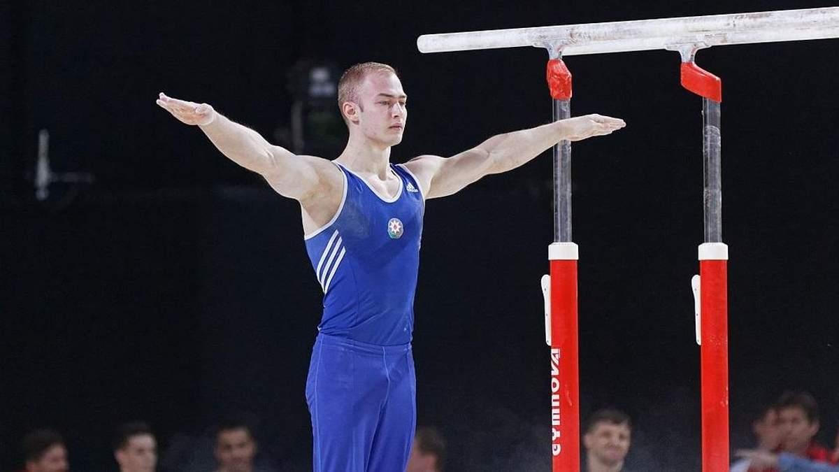 Українець Пахнюк виборов золото на Кубку світу зі спортивної гімнастики
