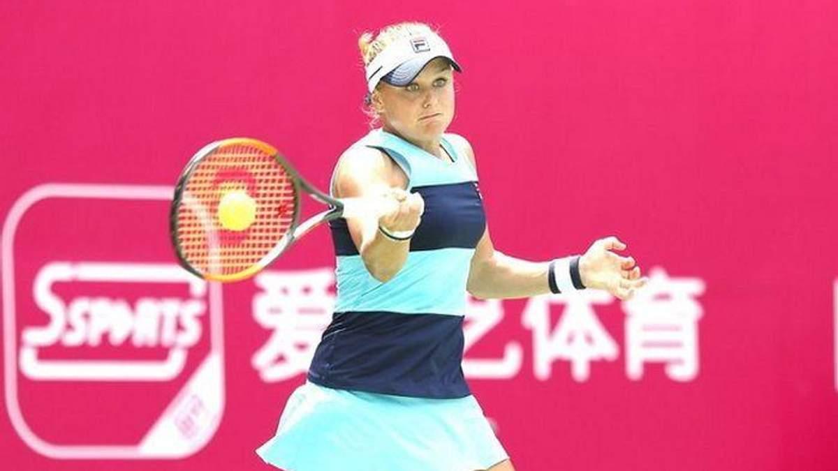 Украинка Козлова сенсационно победила в 1/16 на турнире в Ташкенте, Свитолина и Костюк выбыли
