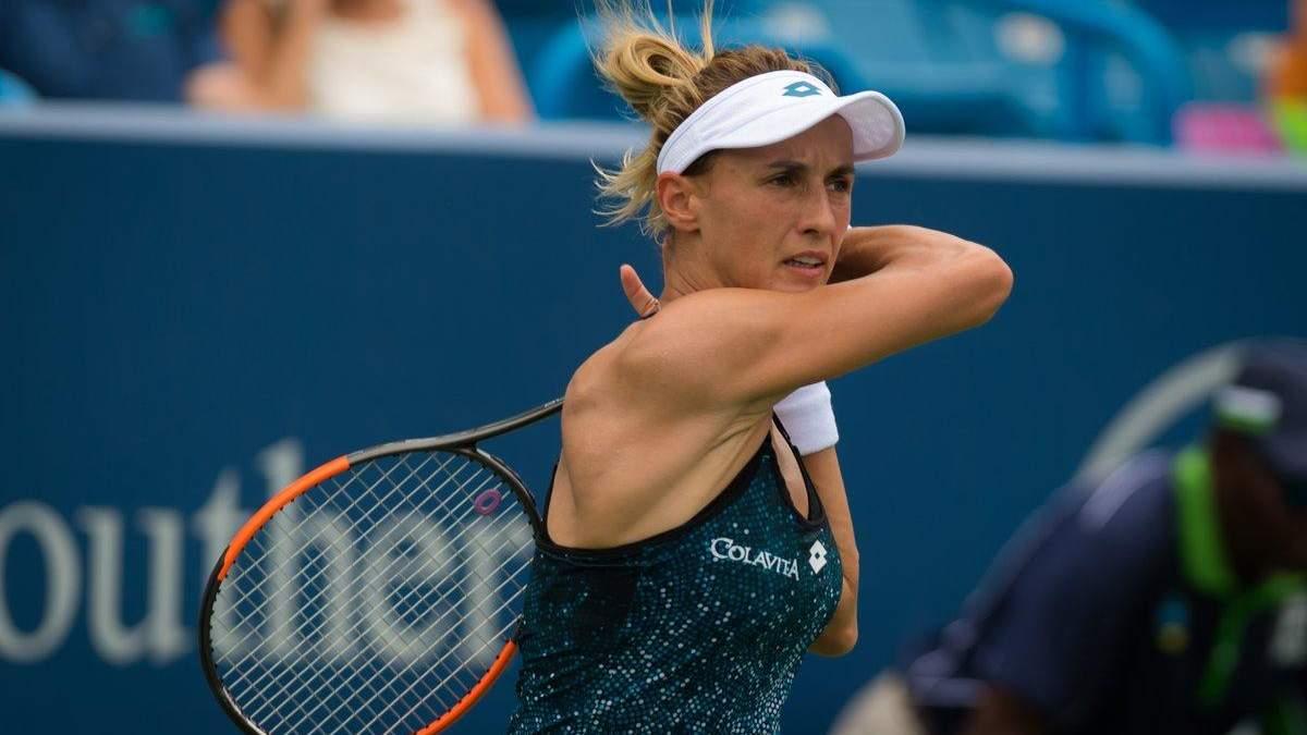 Леся Цуренко из-за травмы отказалась продолжать матч на турнире в Пекине