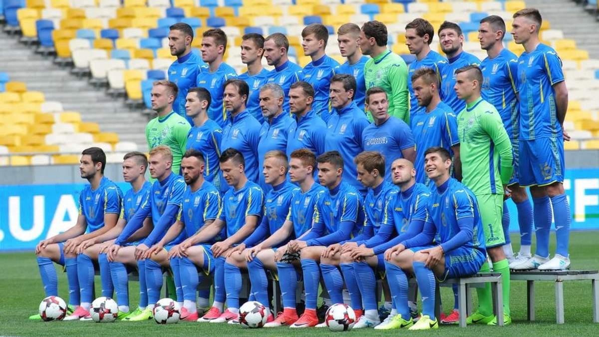 Опубліковано список футболістів, яких викликали на матчі збірної України проти Італії та Чехії