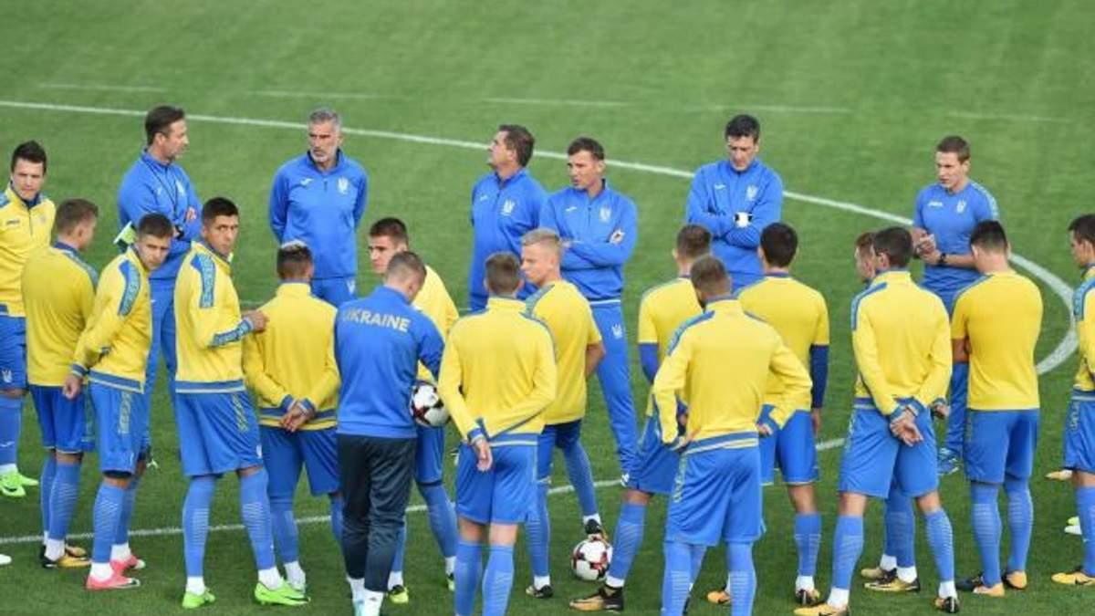 Збірна України з футболу 12 жовтня проведе відкрите тренування у Харкові