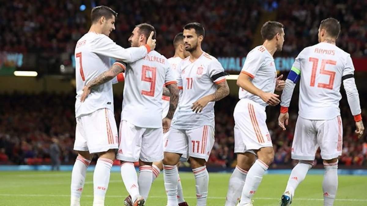 Іспанія розгромила Уельс на виїзді у товариському матчі: відео голів