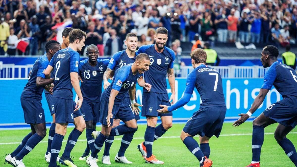 Франция - Исландия: видео голов, обзор матча 11 октября