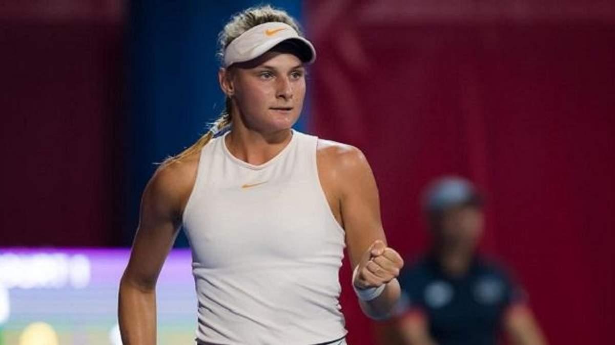 Українка Ястремська вдруге в кар'єрі вийшла у півфінал турніру серії WTA