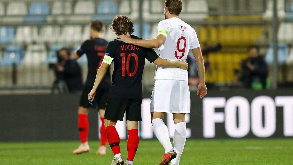 Хорватія не зуміла обіграти Англію на власному полі: відеоогляд матчу