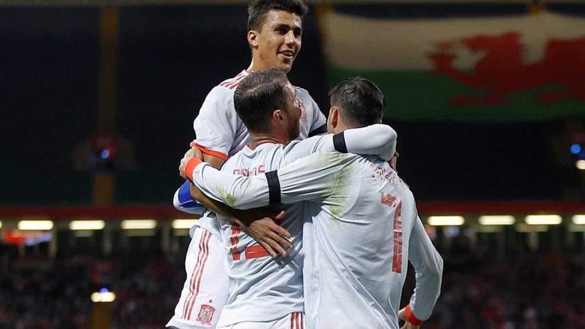 Испания – Англия смотреть онлайн матч Лиги наций