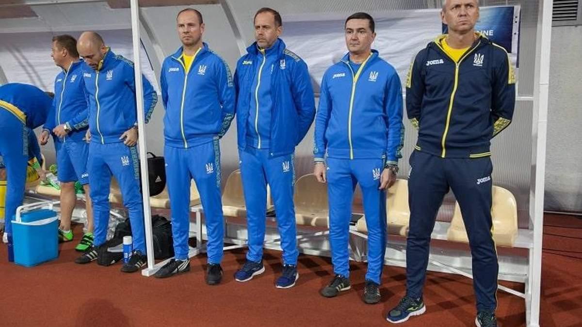 Сборная Украины U-21 победила Шотландию U-21