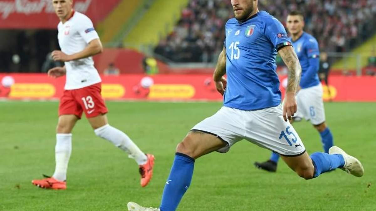Италия вырвала победу у Польши
