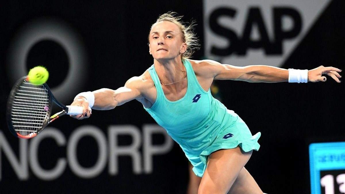 Леся Цуренко уступила на турнире в Москве