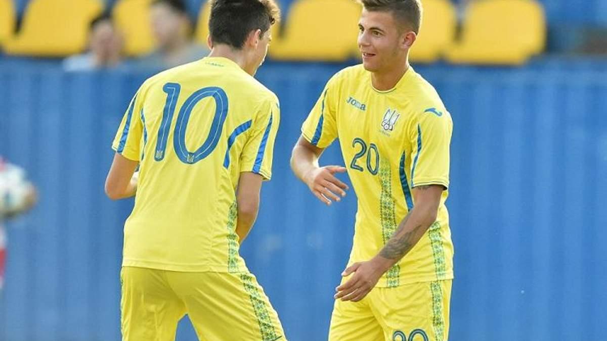 Збірна України U-17 вийшла в еліт-раунд Євро-2019