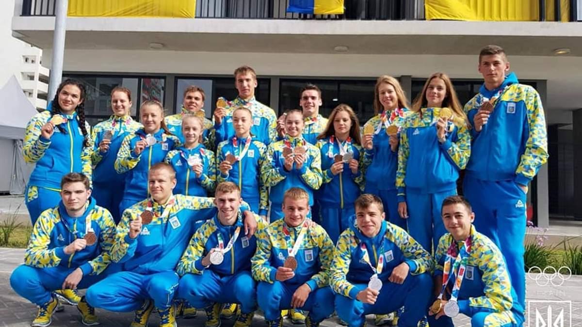 Як зустрічають українських юних спортсменів Олімпійських ігор: фото