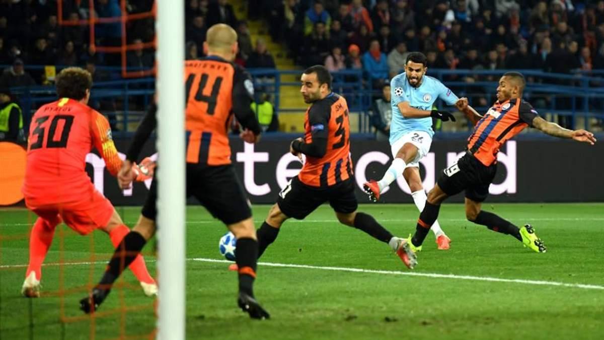 Шахтар – Манчестер Сіті результат та огляд матчу Ліги чемпіонів
