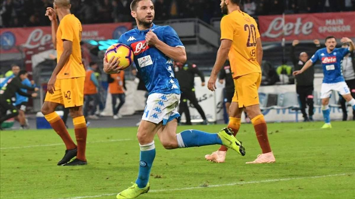 Рома - Наполі: відео голів та огляд матчу чемпіонату Італії