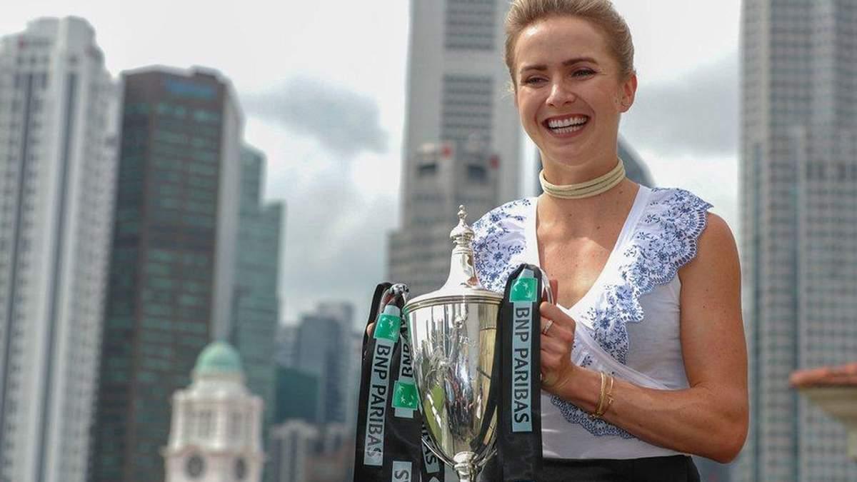 Элина Свитолина стала четвертой ракеткой мира после феерической победы