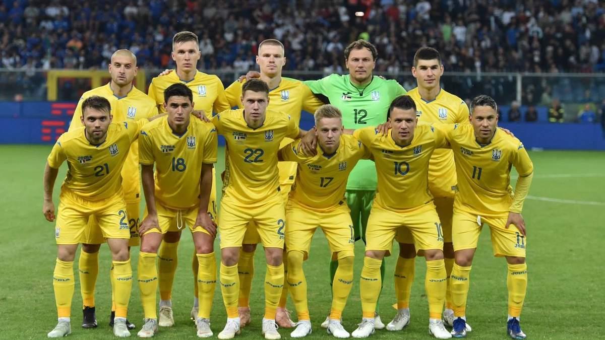Шевченко назвав імена легіонерів збірної України на матчі проти Словаччини та Туреччини