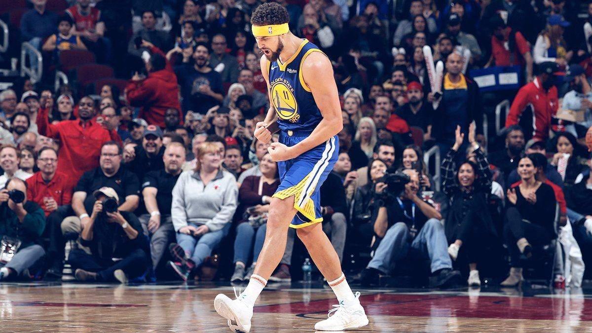 Клей Томпсон встановив новий рекорд НБА за кількістю трьохочкових за матч: відео