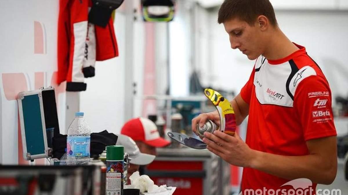 Юный украинский гонщик сделал первый шаг к Формуле-1