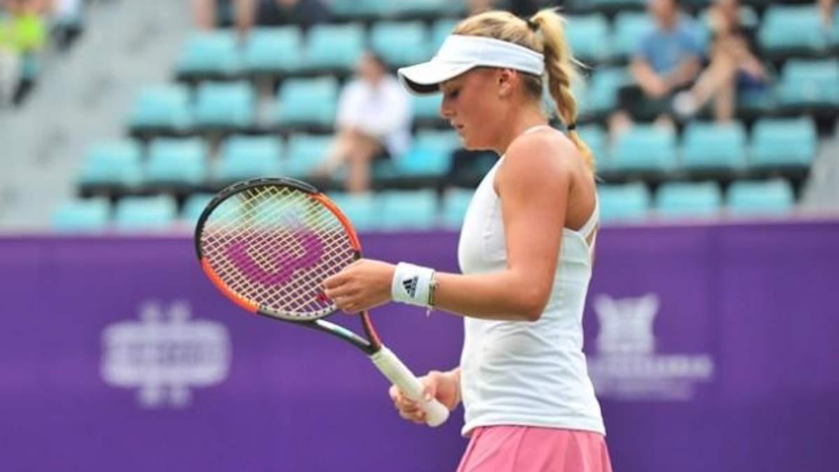 Українка Козлова поступилася у фіналі престижного турніру в Торонто