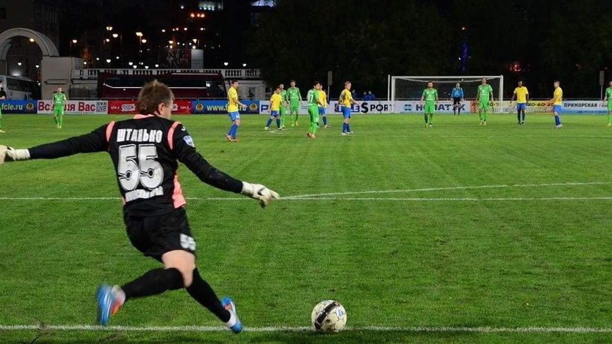 Український воротар відбив пенальті незвичним способом: відео