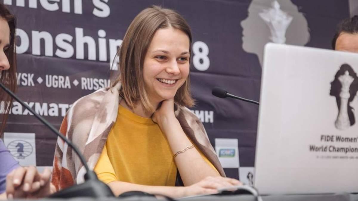 Анна Музычук уверенно вышла в 1/8 финала на чемпионате мира по шахматам