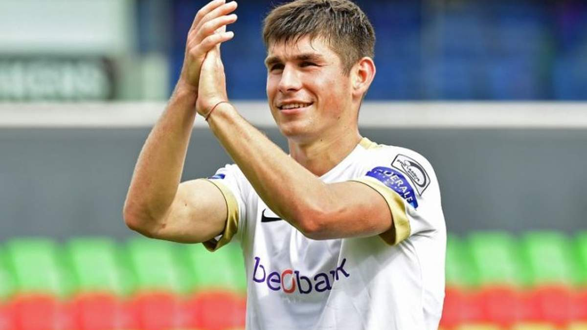 Украинец Малиновский стал лучшим футболистом октября в Бельгии по версии InStat