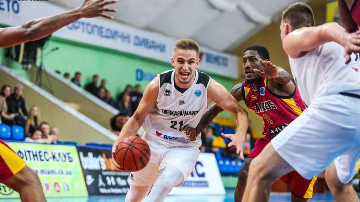 Украинец Кобец дебютировал за баскетбольный клуб в США