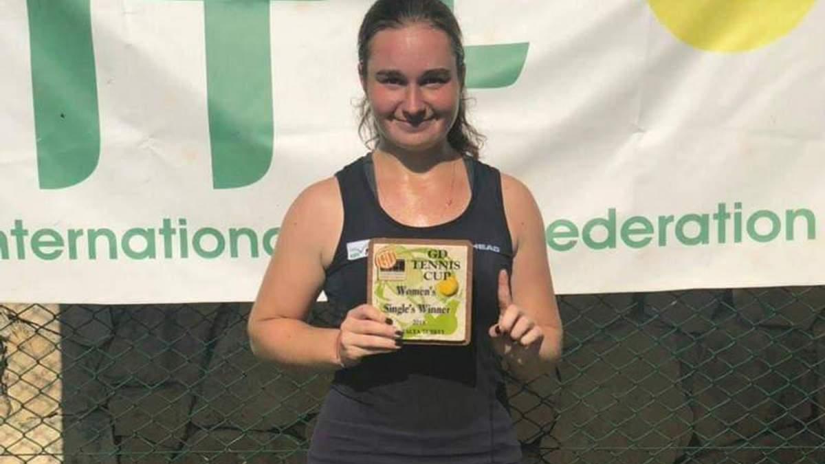 Теніс: 16-річна українка Снігур виграла перший професійний титут турніру ITF в Туреччині