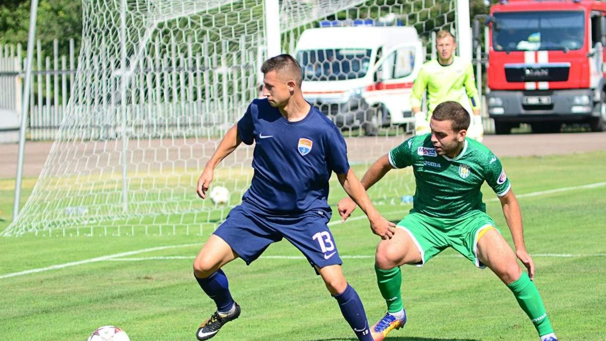 Андрій Борячук (ліворуч)