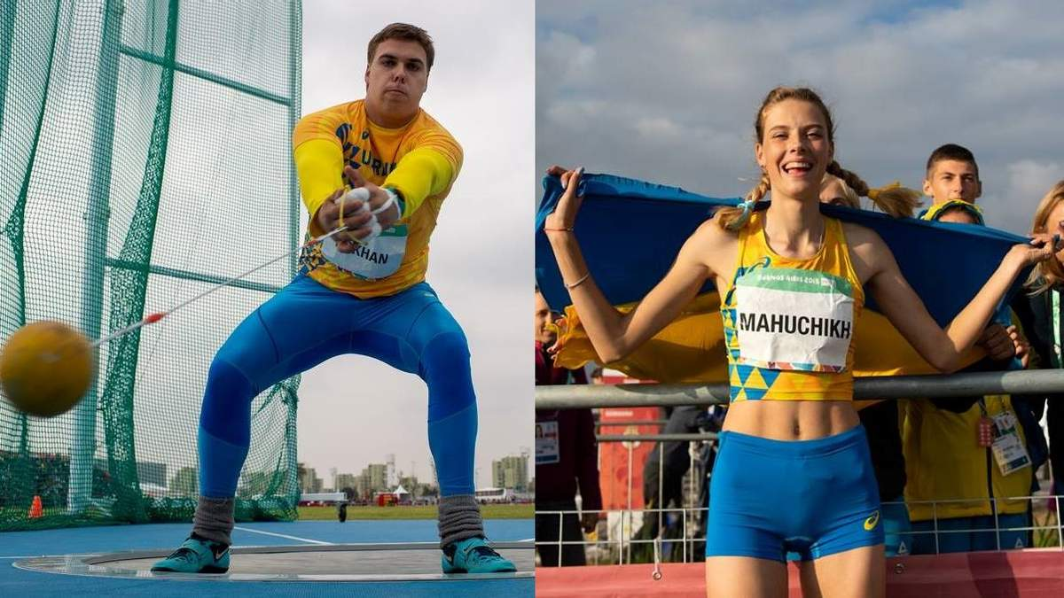 Олимпийские чемпионы признаны лучшими легкоатлетами октября в Украине