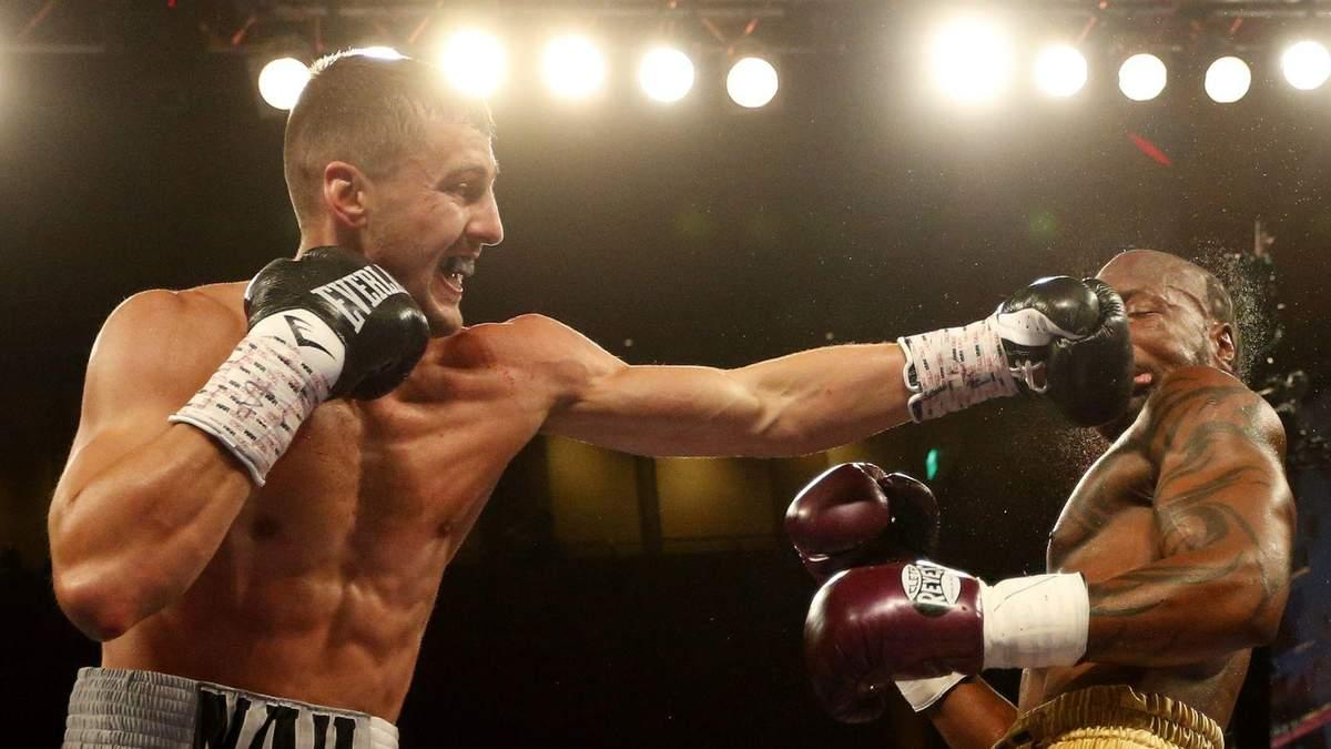 Гвоздик – Стівенсон: онлайн боксерського поєдинку