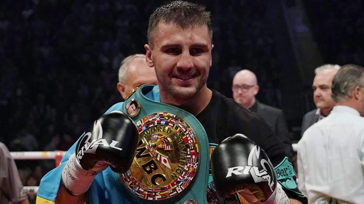 Гвоздик ефектно переміг нокаутом та став чемпіоном світу з боксу за версією WBC