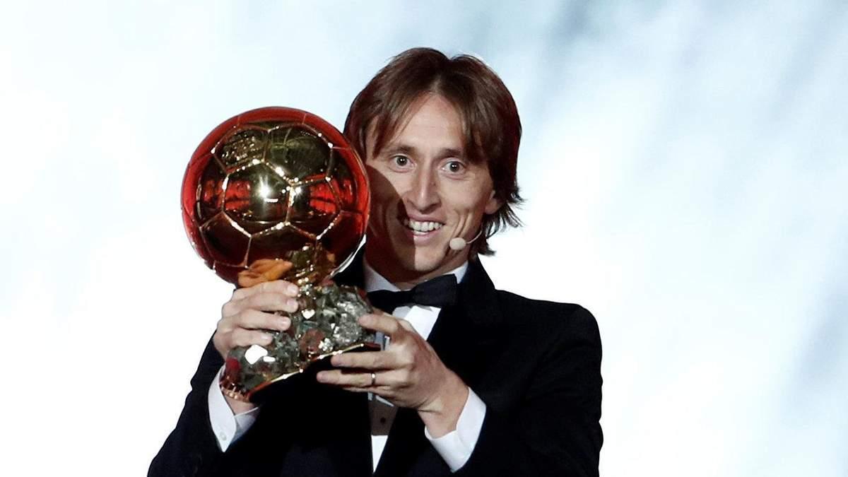 """Якщо я виграв, то тільки тому, що зробив щось особливе, – Модріч про """"Золотий м'яч"""""""