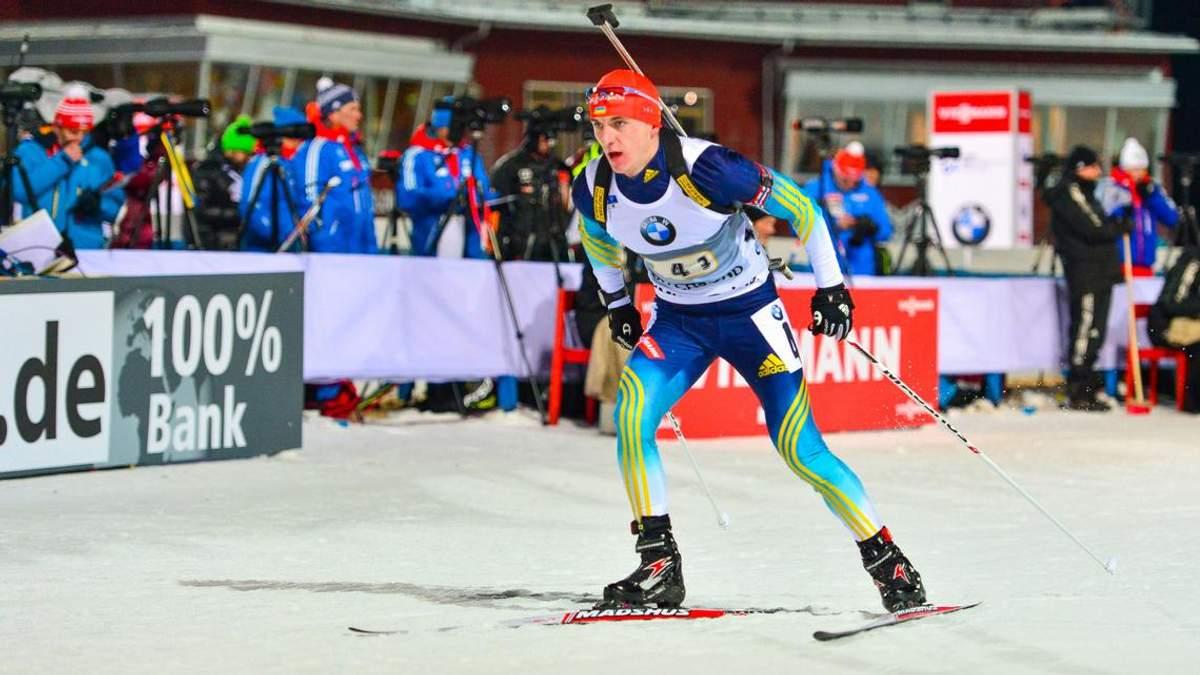 Капітан збірної України пропустить індивідуальну гонку на етапі Кубка світу з біатлону