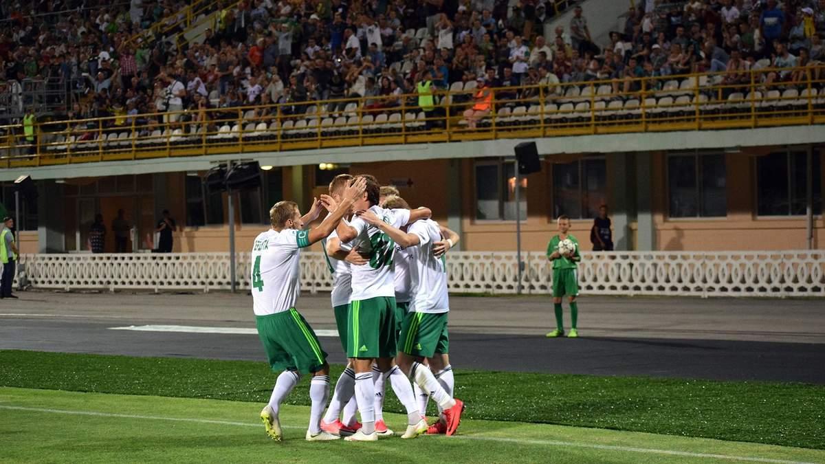 Черноморец – Ворскла: видео голов, обзор матча