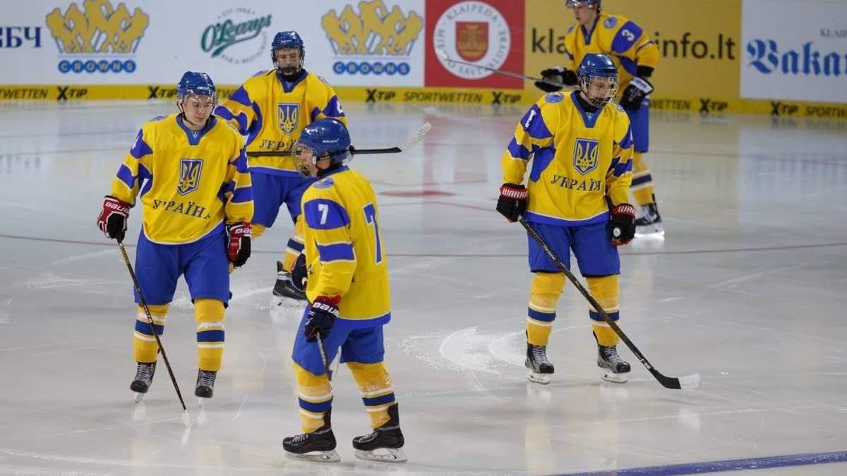 Сборная Украины с хоккея потерпела самое крупное поражение за 8 лет