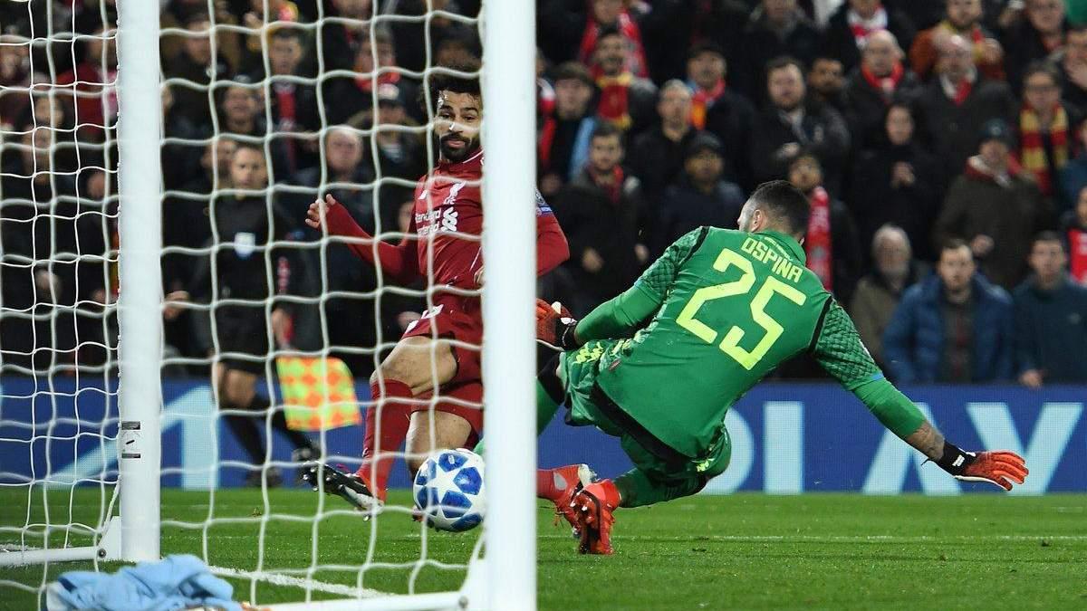 Ливерпуль – Наполи: видео голов, обзор матча
