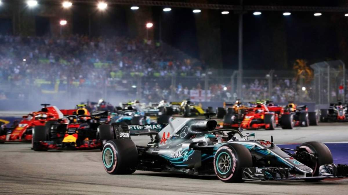 Обгоны в Формуле-1