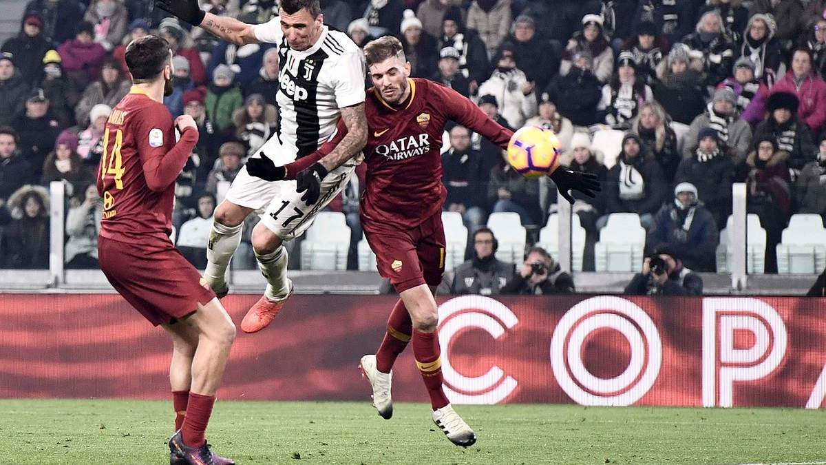 Ювентус – Рома: видео голов, обзор матча