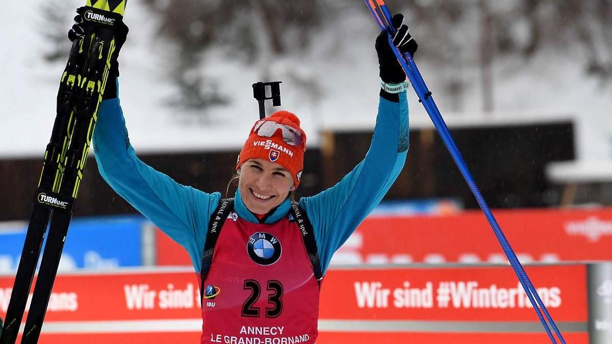 Біатлон: Кузьміна виграла мас-старт у Нове-Мєсто, дві українки в топ-20