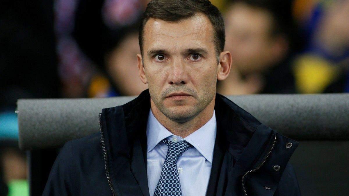Андрей Шевченко оценил достижения сборной Украины в 2018 году