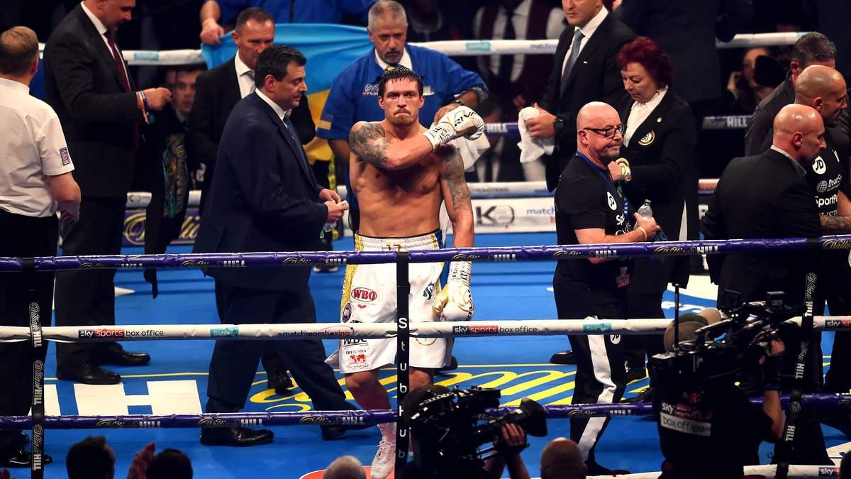 Олександра Усика названо найкращим боксером планети у 2018 році за версією WBA